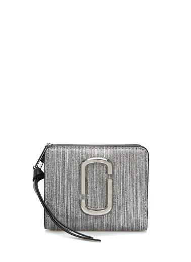 Marc Jacobs Marc Jacobs  Logolu Kadın Deri Cüzdan 101547770 Gümüş